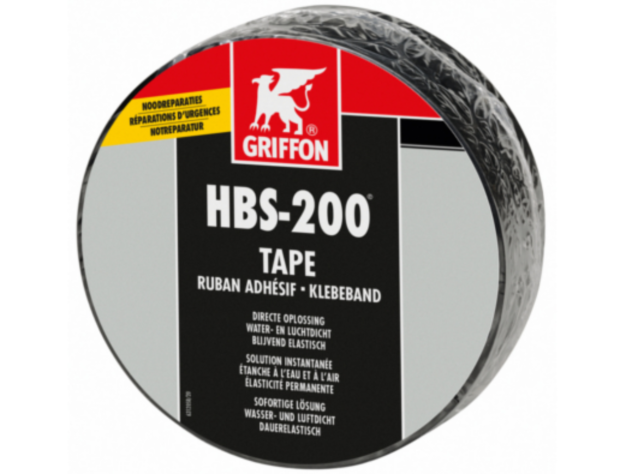 Griffon HBS-200® Tape: direct water- en luchtdicht