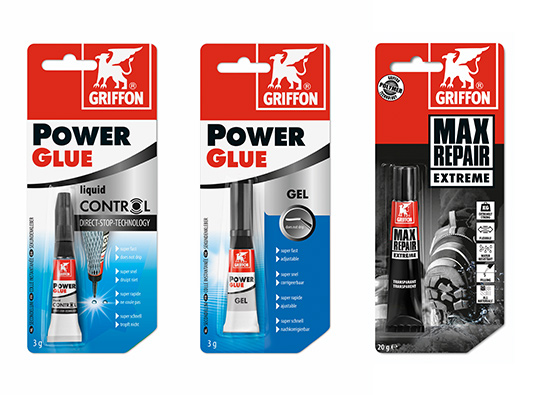 Power Glues en Max Repair Extreme
